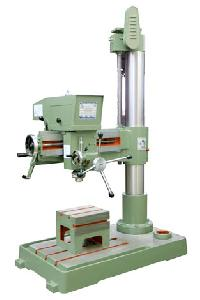 Heavy Duty Radial Drill Machine With Fine Feed And Box Table