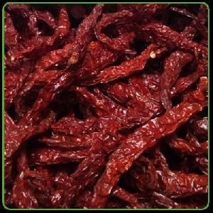 Byadgi Dried Stemless Chilli - Red Chilli