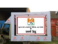 Led Advertising Van On Rent