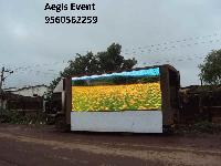 led screen display van rental services