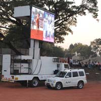 Led Screen Mobile Van, Video Wall, Supplier On Rental