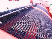 Trommel Screen Mesh For Lighter And Wetter Materials