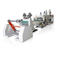 Single Layer Plastic Sheet Extruder