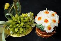 Flower Pot Designer Aroma Candle