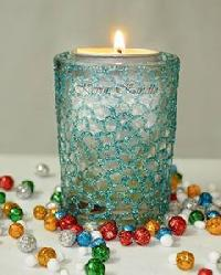 Hand Design Aroma Candle