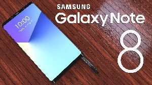 Samsung Note 8 Mobile Phone