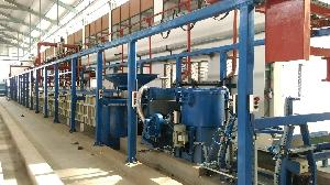 Electroplating barrel plant