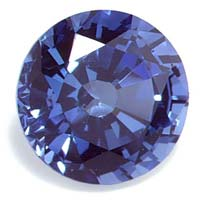Synthetic Blue Sapphire Stone