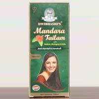 Dwibhashi Mandara Tailam (the Hair Oil) 200 Ml