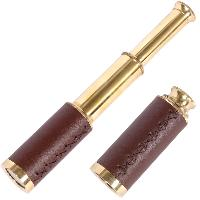 Brass Telescope Leather Cover