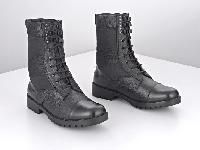 Metrogu Men's 8 Leather Long Boots