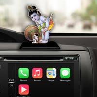 Car Dashboard Religious Idols