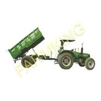 Single Axle Hydraulic Tipping Trailer