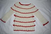 Hand Knitted Woollen Baby Sweaters