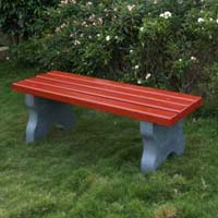 Garden Bench Without Backrest