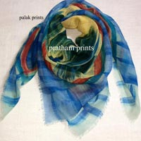 Wool Hand Painted Scarves
