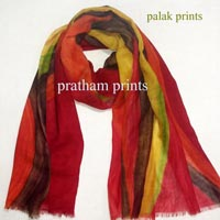 Wool Hand Painted Stoles