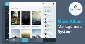Music Album Management System
