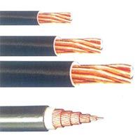 PVC NON-Sheathed 1100-660 Volt Twisted Copper Conductor Cables