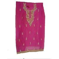 Ladies Chanderi Unstitched Suits