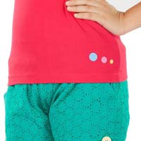 Lace Shorts - Kids Casual Wear