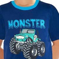Monster Trucker Tee - Boys Casual Tees