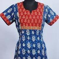 Jaipuri Half Sleeve Kurtis