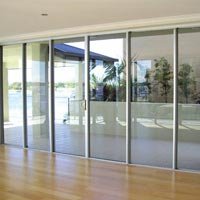 Aluminium Sliding Doors Fabrication And Installation