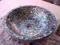 Semi Precious Wash Basin