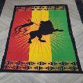 rastafari printed tapestry