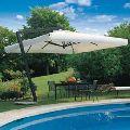 Side Pole Garden Umbrellas