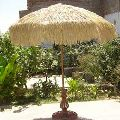 Wood Frame Garden Umbrella