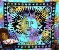 Celestial Sun Wall Hanging Tapestry