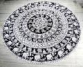 Printed Mandala Tapestry