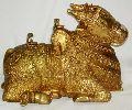 Brass Nandi Ji Statue
