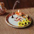 Marble Pooja Thali Plate