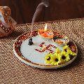 Pooja Thali Plate Handicraft Religious