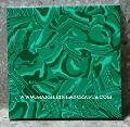 Square Malachite Semi Precious Wall Tile