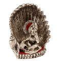White Metal Hindu God Ganesha Statue