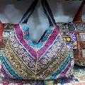 saree patchwork banjara bag