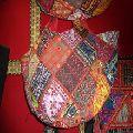 traditional patchwork banjara bag