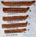 Boat Shape Wooden Incense Box Burners
