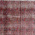 cotton block printed rug carpet