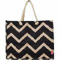 Cheap Jute Shopping Bags Bamboo Handle