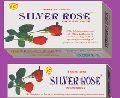 SIlver Rose Round Incense Agarbatti Stick