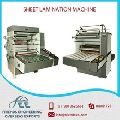 sheet lamination machine