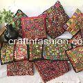 Kutchi Handwork Cushion Covers