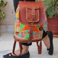 Embroidery Backpack Bag