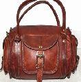 Leather Duffel Bag