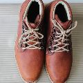 Vintage Suede Leather Breathable Ankle Boots Shoes